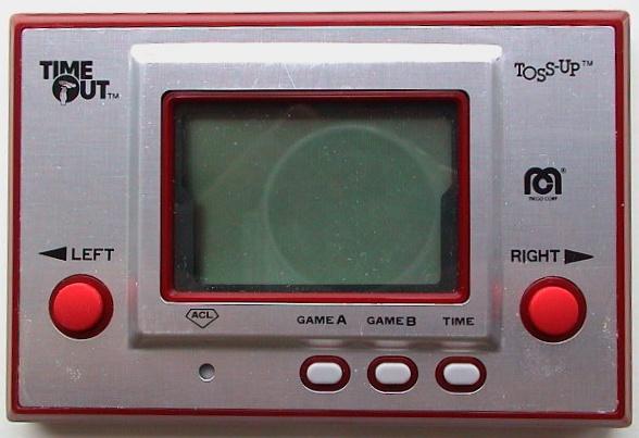 Toss Up 2e version, avec le logo Mego