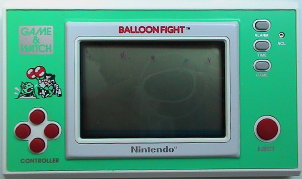 Game & Watch New Wide Screen Balloon Fight (BF-107)
