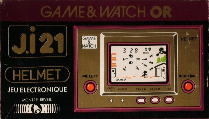 Boite du Game & Watch Helmet (CN-07) en version J.i21
