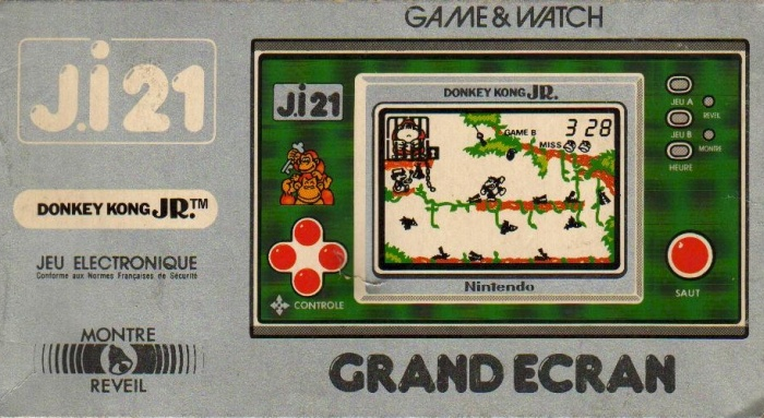 Boite du Game & Watch Donkey Kong Jr. (DJ-101) en version J.i21