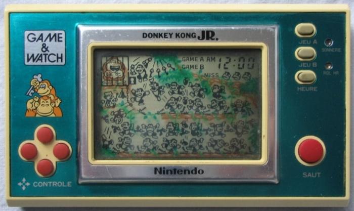 Game & Watch Donkey Kong Jr. (DJ-101) en version J.i21touches françaises