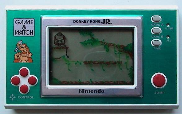 Game & Watch Donkey Kong Jr. (DJ-101) dans sa version standard