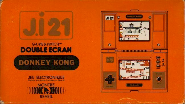 Boite du Game & Watch Donkey Kong (DK-51) en version J.i21