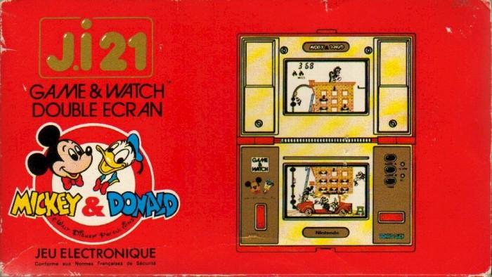 Boite du Game & Watch Mickey & Donald (DM-53) en version J.i21