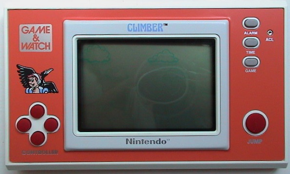 Game & Watch New Wide Screen Climber (DR-106)