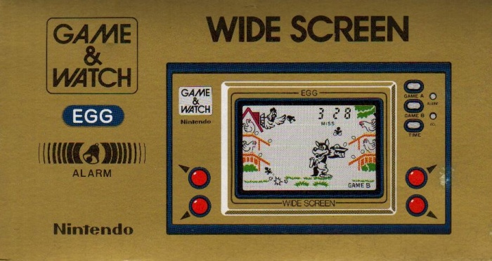 Boite du Game & Watch Egg (EG-26) en version standard
