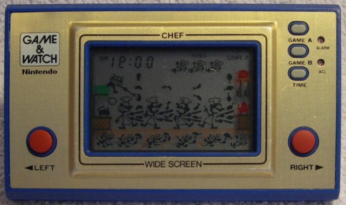 Game & Watch Chef (FP-24) version argentine