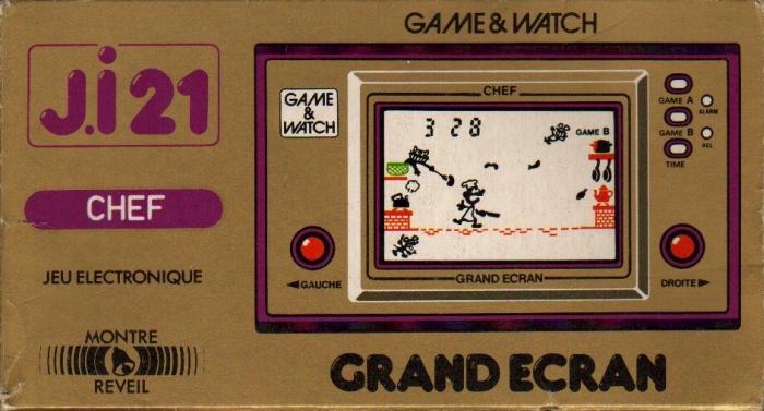 Boite du Game & Watch Chef (FP-24) en version J.i21