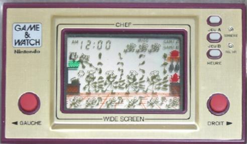 Game & Watch Chef (FP-24) dans sa version J.i21 touches françaises