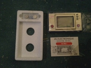 Game & Watch Fire (FR-27) en version promotionnelle Bosch