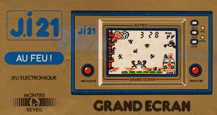 Boite du Game & Watch Fire (FR-27) en version J.i21