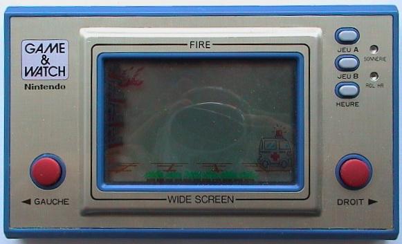 Game & Watch Fire (FR-27) en version J.i21 touches françaises