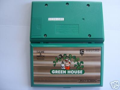 Game & Watch Greenhouse (GH-54) version publicitaire pour Cooper France