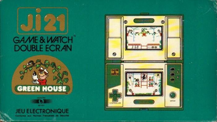 Boite du Game & Watch Green House (GH-54) en version J.i21