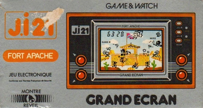 Boite du Game & Watch Fire Attack (ID-29) en version J.i21