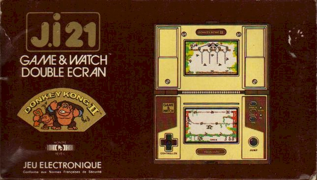 Boite du Game & Watch Donkey Kong II (JR-55) en version J.i21