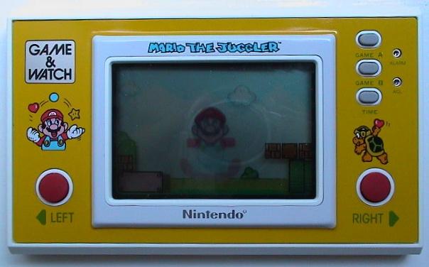 Game & Watch Mario the Juggler (MB-108)