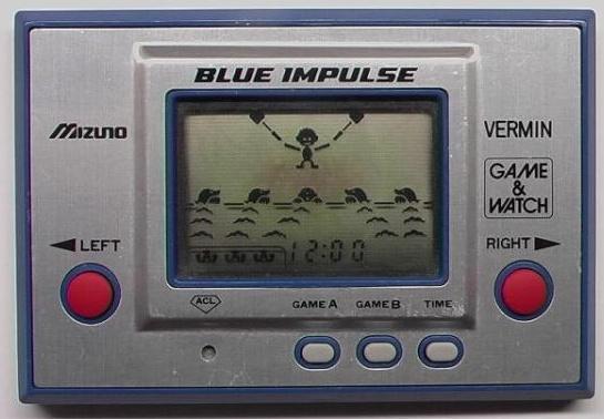 Game & Watch Vermin (MT-03) version promotionnelle Mizuno