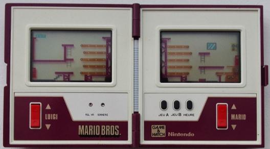 Game & Watch Mario Bros. (MW-56) dans sa version J.i21 touches françaises