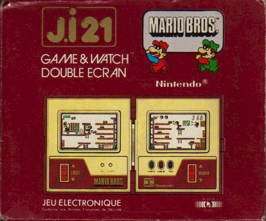 Boite du Game & Watch Mario Bros. (MW-56) en version J.i21