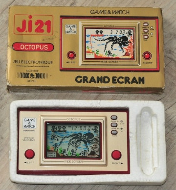 Game & Watch Octopus Vandamme en vente sur ebay