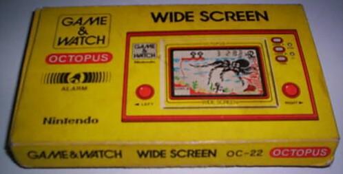 Boite du Game & Watch Octopus (OC-22) version argentine