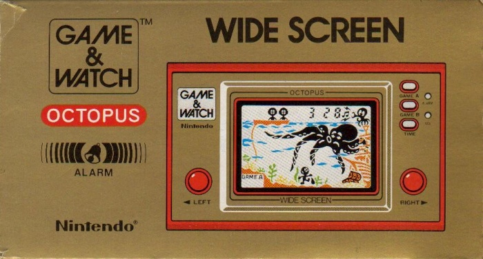 Boite du Game & Watch Octopus (OC-22) en version standard