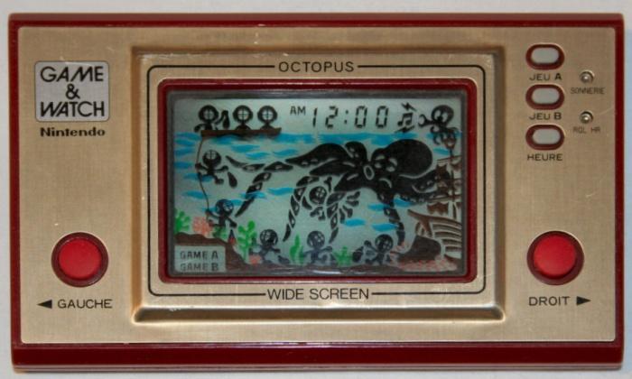 Game & Watch Octopus (OC-22) en version J.i21 touches françaises