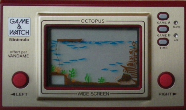 Game & Watch Octopus (OC-22) version promotionnelle pour Vandame