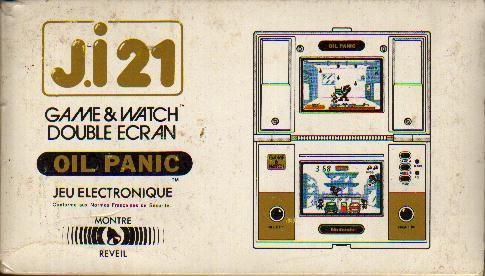 Boite du Game & Watch Oil Panic (OP-51) en version J.i21
