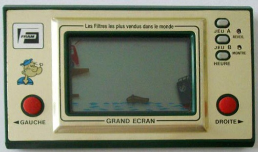 Game & Watch Popeye promotionel (PP-23) pour FRAM