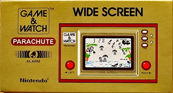 Boite du Game & Watch Parachute (PR-21)
