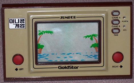 Game & Watch Parachute en version coréeenne Goldstar Jumper