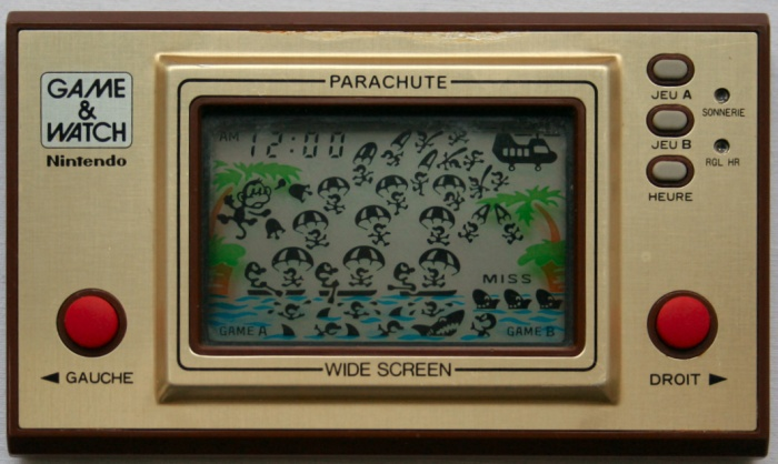 Game & Watch Parachute (PR-21) en version J.i21 touches françaises