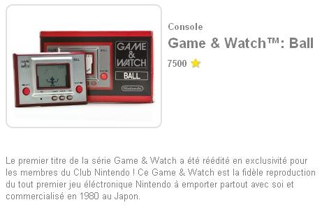La réédition de Ball (RGW-001) disponible au club Nintendo France