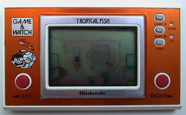 Game & Watch Tropical Fish (TF-104)