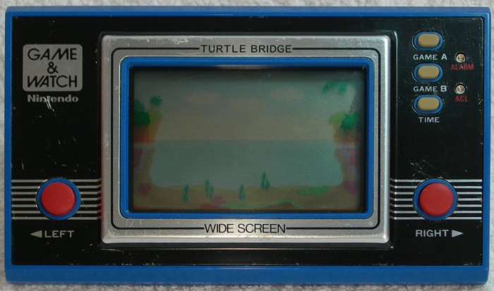 Game & Watch Turtle Bridge (TL-28) version argentine