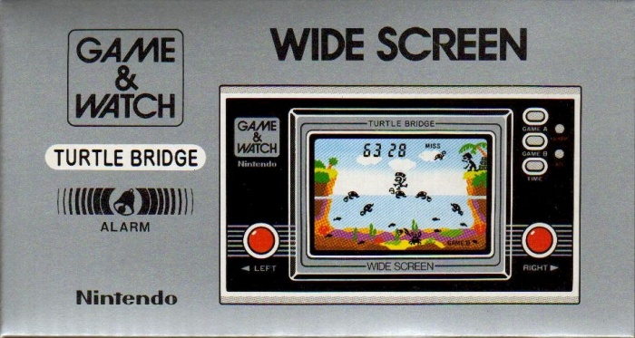 Boite du Game & Watch Turtle Bridge (TL-28) dans sa version standard