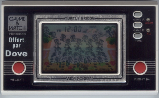 Game & Watch Turtle Bridge (TL-28) offert par Dove