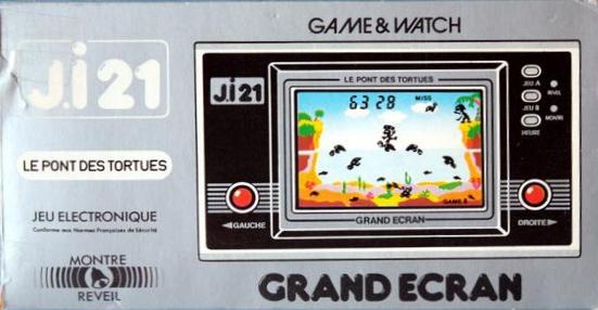 Boite du Game & Watch Turtle Bridge (TL-28) en version J.i21