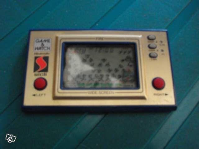 Game & Watch Fire (FR-27) en version promotionnelle pour Sicli