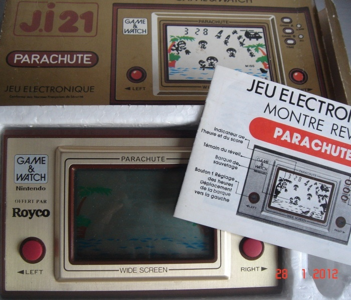 Game & Watch Parachute (PP-21) en version promotionnelle pour Royco