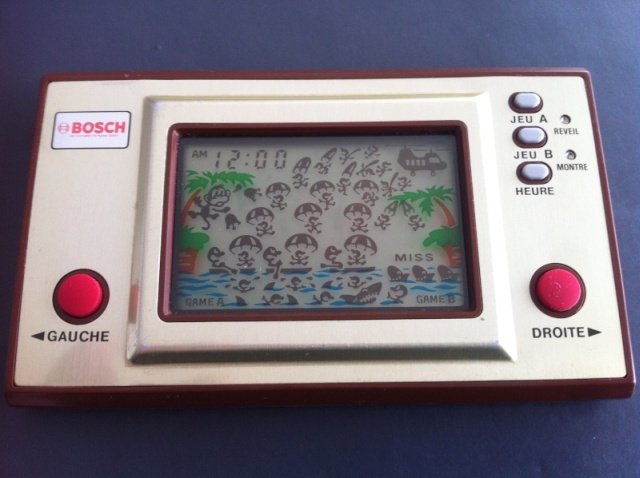 Game & Watch Parachute (PR-21) en version publicitaire pour Bosch