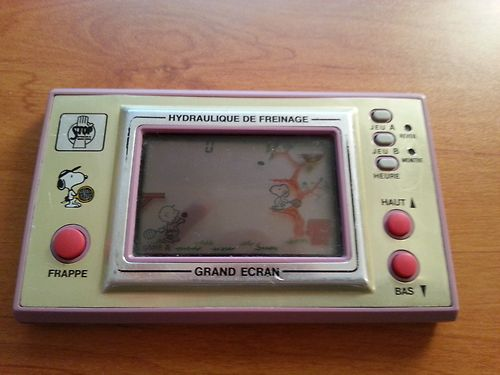 "Game & Watch Snoopy Tennis ""Stop / Hydraulique de Freinage"""